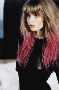 High Fashion Dip Dye