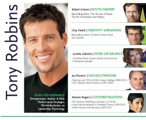 Tony Robbins Hypnotic Gaze