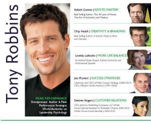 Tony Robbins Hypnotic Gaze