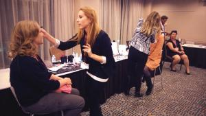 The Beauty Team Working Their Magic!