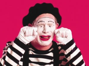 Save Your Tears Mime!