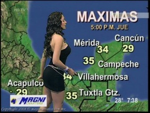 """Its going to be MUCHO  Caliente in the Gulf of Mexico today Papi..."""