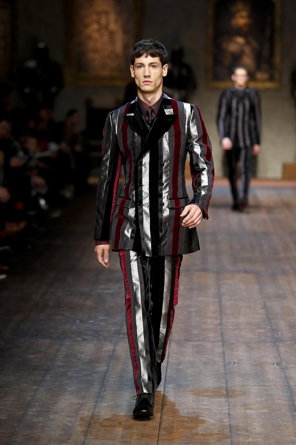 Dolce And Gabbana Fw 2014 2015 Men Fashion Show Runway 65 The Pop Culture Rainman