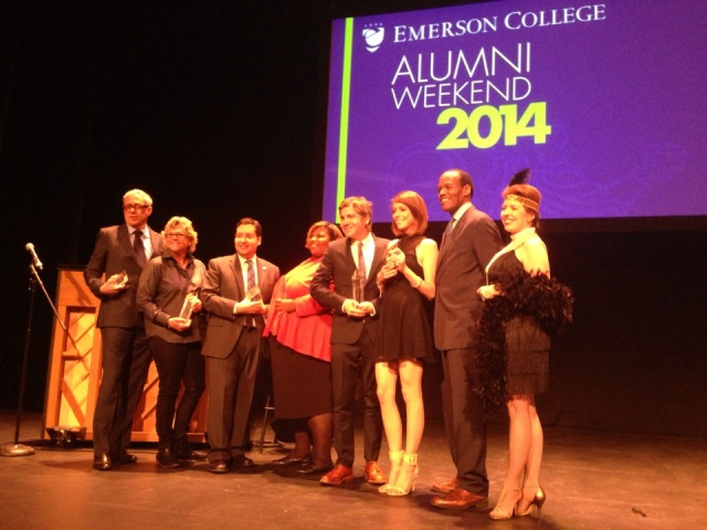 Shira Lazar Receives Young Achievement Award from Emerson in 2014