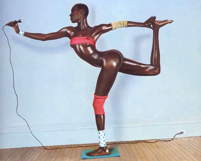 Iconic Grace Jones Photo