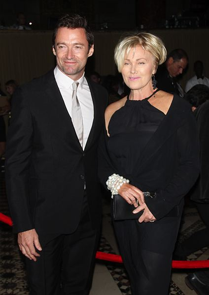 Hugh Jackman and wife Deborra-Lee