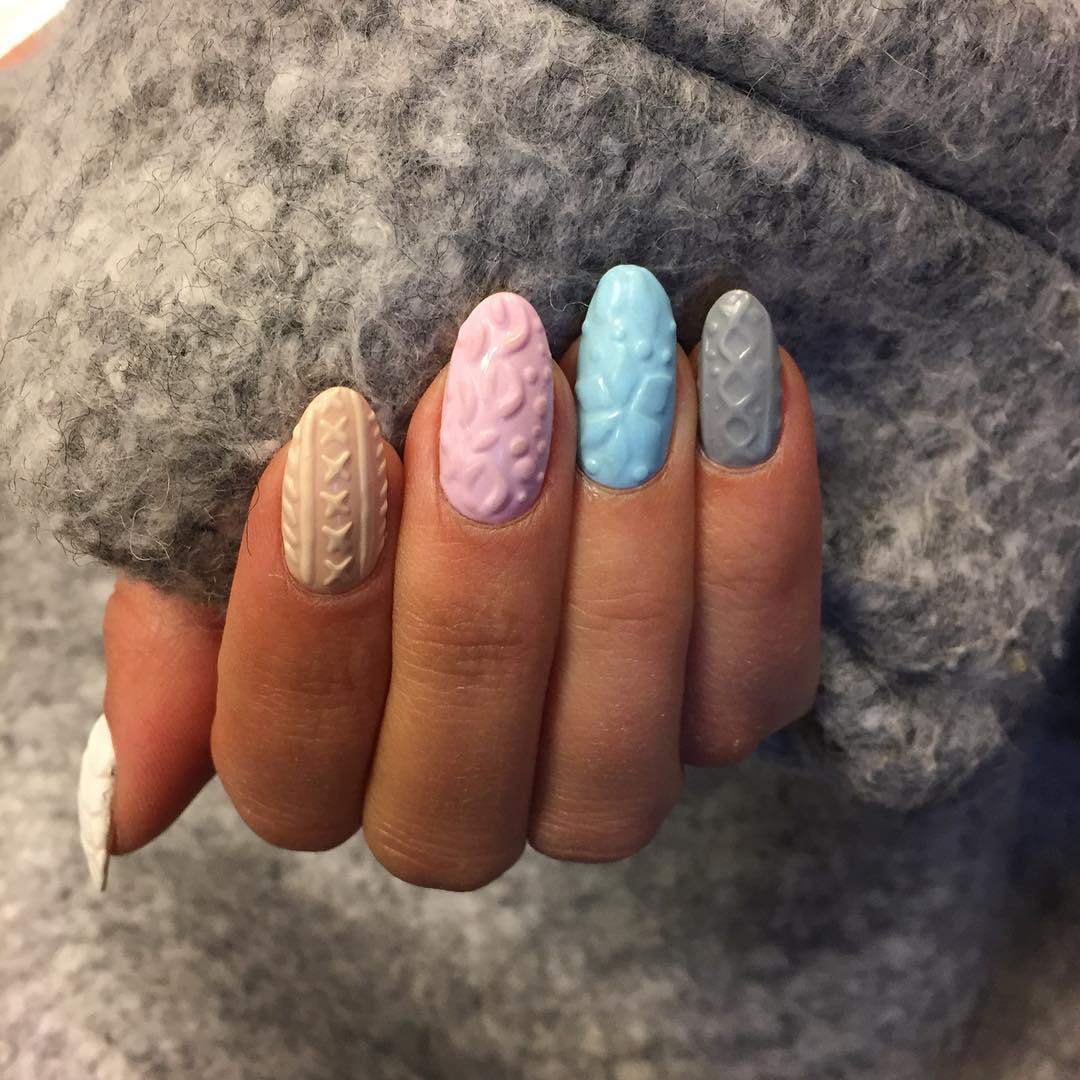 knitted-nails-trend-3d-gel-technique-9 | The Pop Culture Rainman™