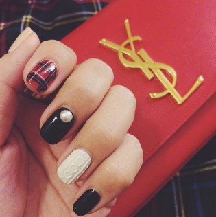 Sweater-Nail-Art is a thang