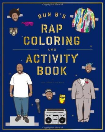 Rap Coloring Book