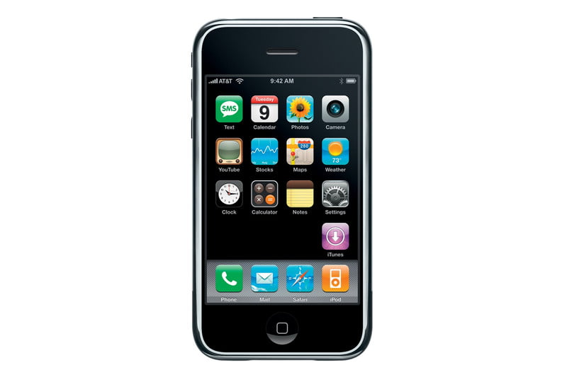 What Did The Iphone 1 Look Like